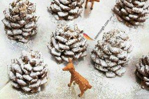 دسر درخت کاج، دسری شیک و راحت برای کریسمس