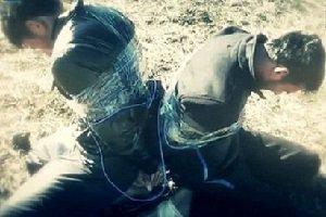 داعش دو نفر را منفجر کرد!+ عکس