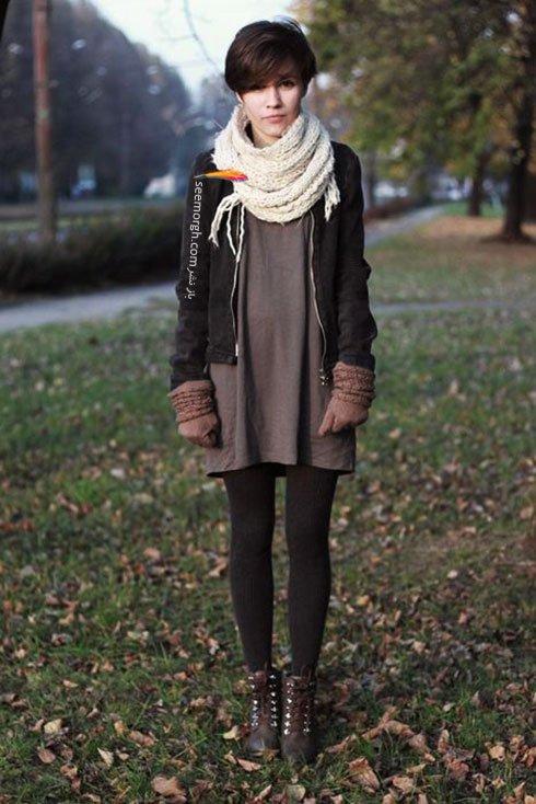 ست لباس دخترانه برای زمستان 2016 به پیشنهاد مجله Elle - شماره 10