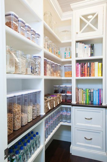 قفسه بندی حبوبات در دکوراسیون آشپزخانه