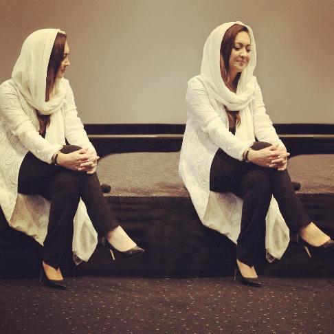 چهره نیکی کریمی در جشنواره فیلم دوبی