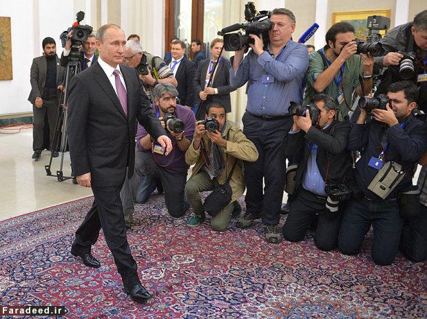 راز جدید درباره ولادیمیر پوتین /تصاویر