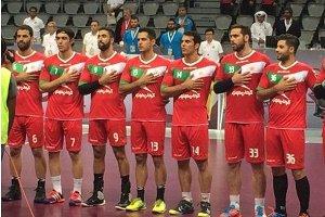شکست هندبال ایران مقابل عربستان