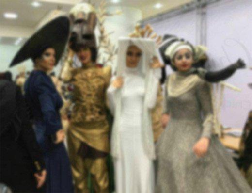 شوک فرهنگی: مراسم بالماسکه هالووین در دانشگاه الزهرا تهران + عکس