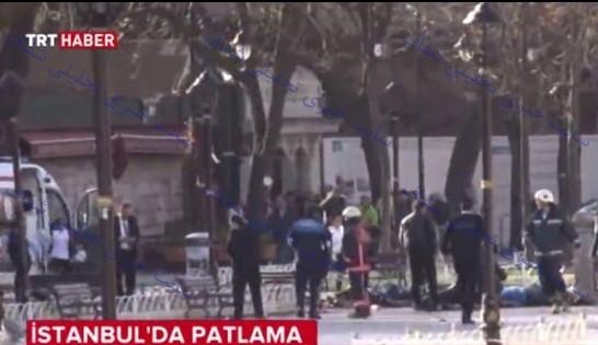انفجار مهیب در استانبول