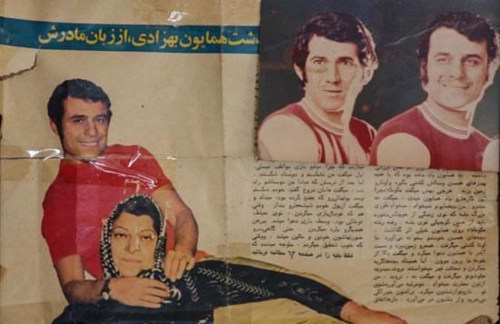 همایون بهزادی سرطلایی فوتبال ایران 2