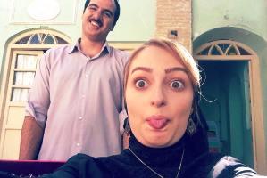 عکس هایی از چهره بدون گریم نهال دشتی بازیگر سریال شهرزاد