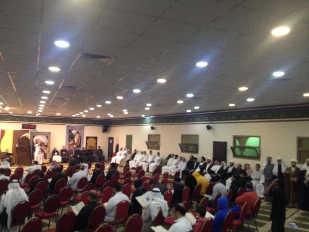 مجلس ختم شهید نمر در قطیف+ تصاویر