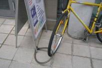 خنده دار ترین روش های قفل کردن دوچرخه + عکس