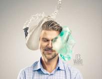 هنرنمایی جالب و خنده دار با کاندوم + عکس