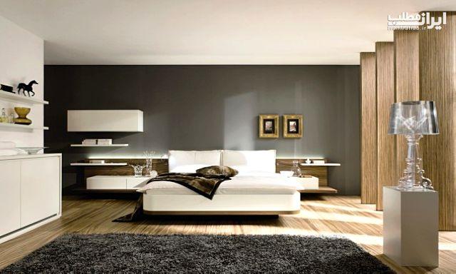 تزیین بالای تخت خواب + مدل های جدید
