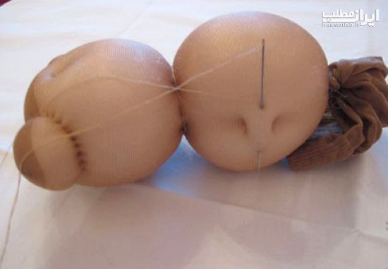 ساخت عروسک ساخت عروسک با جوراک عروسک سازی