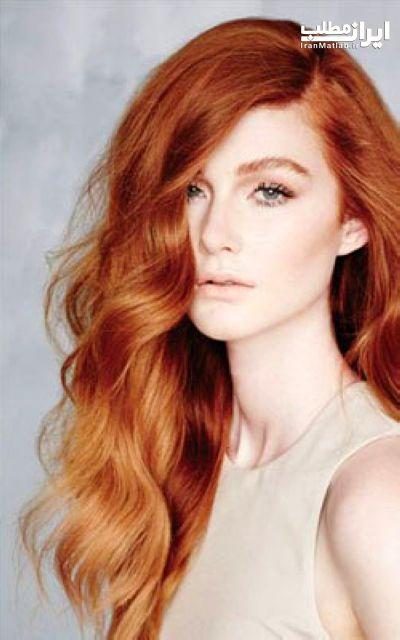 پوست روشن رنگ مو