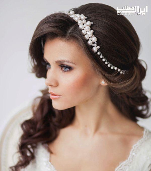 جدید مدل های شینیون موی عروس شیک و جذاب 96