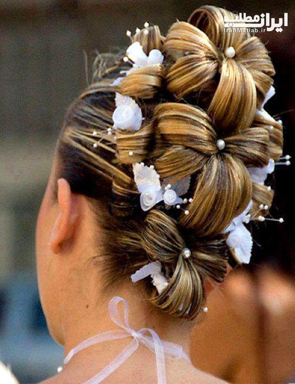 شینیون موی عروس مدل موی عروس