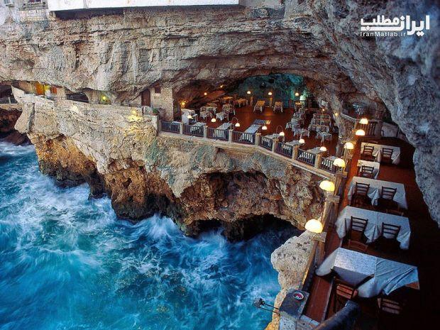 رستوران شگفت انگیز و زیبا در ایتالیا + عکس