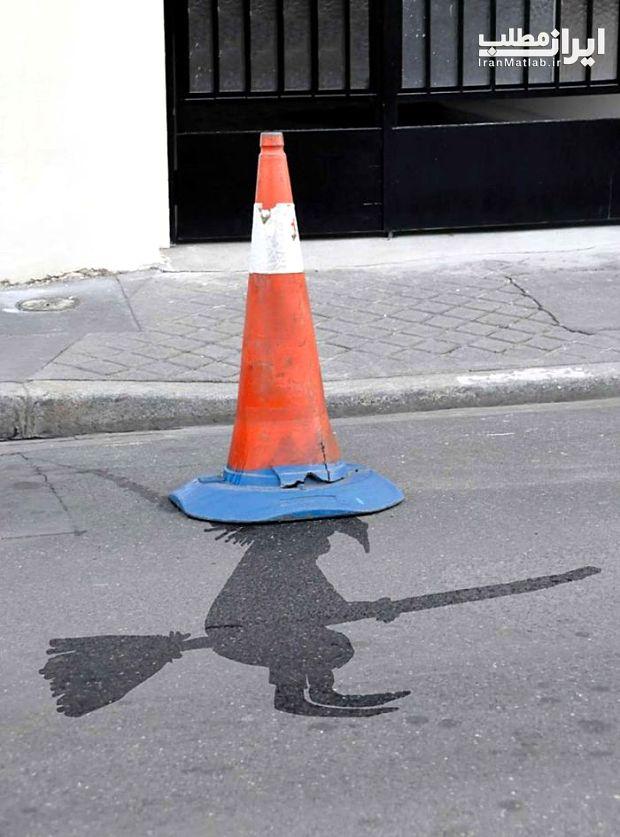 هنرنمایی جالب عکس جالب