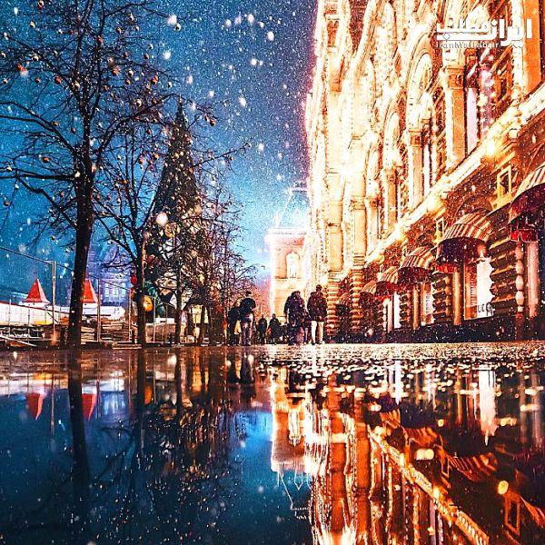 عکس زمستان عکس مسکو