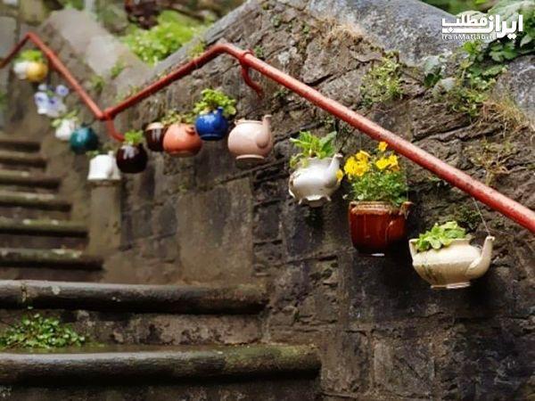 هنر نمایی با وسایل دور ریختنی آشپزخانه + عکس