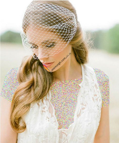 تزیین موی عروس مدل موی عروس