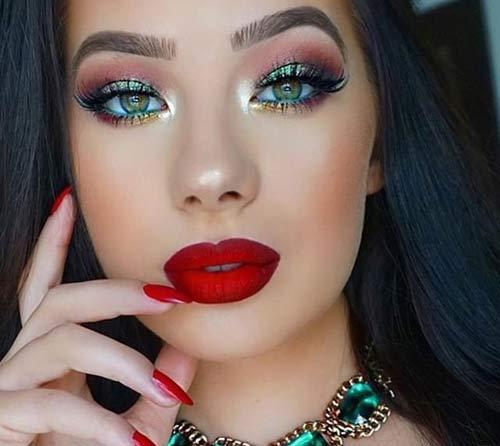 عکس های داغ مدل آرایش جدید دختران خوشگل و ناز