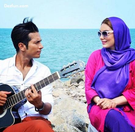 عکس های سحر قریشی و همسر جدیدش امید علومی