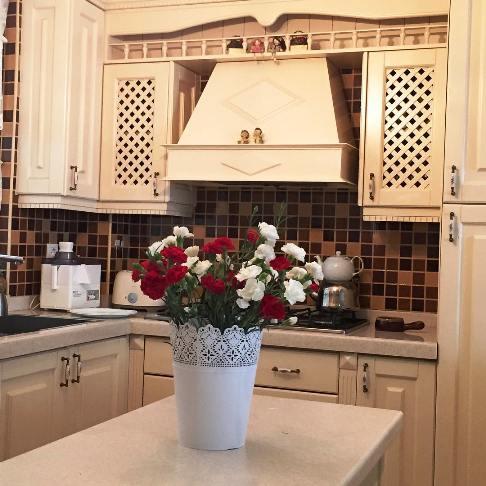 آشپزخانه منزل بهنوش طباطبایی