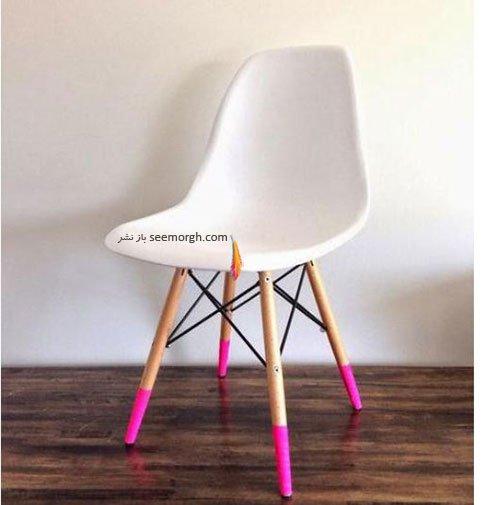 صندلی اتاق تان را رنگارنگ کنید
