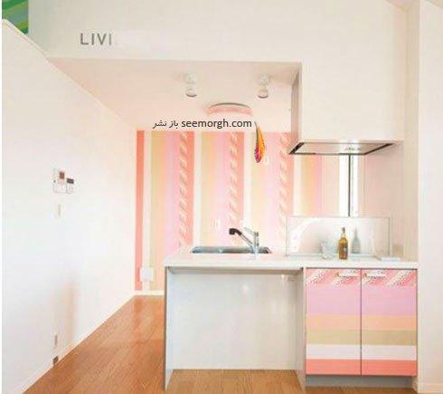 کابینت و دیوار آشپزخانه را با هم ست کنید