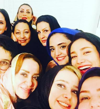 عکس الناز حبیبی و خواهرش افسانه