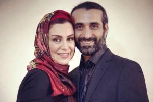 جشن تولد این بازیگر زن و همسرش در رستوران گردان برج میلاد
