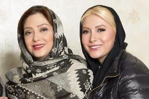 عڪس بازیگران زن سینما در سالن زیبایی مریم سلطانی