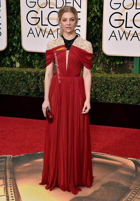 مدل لباس ناتالی دورنر Natalie Dormer در گلدن گلوب Golden Globes 2016