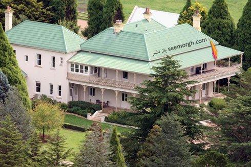 نمای بیرونی خانه نیکول کیدمن Nicol Kidman