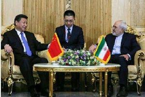استقبال گرم ظریف از رهبر چین در تهران+ عکس