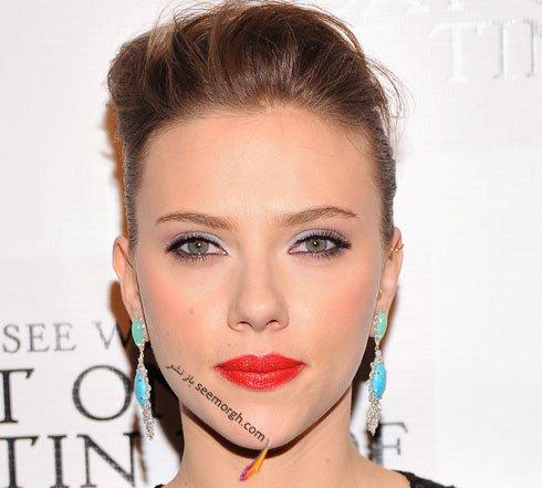 آرایش چشم عروس به سبک Scarlett Johansson اسکارلت جوهانسون