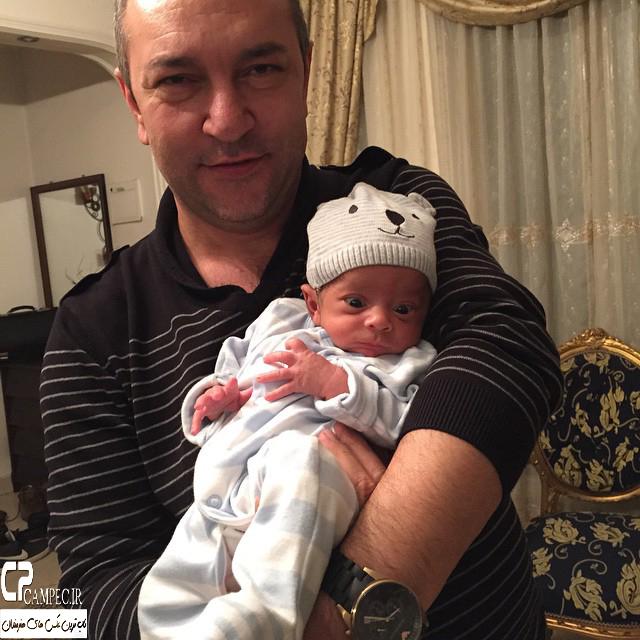 حمید میهن دوست و فرزندش