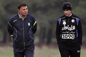 مجید صالح در تمرین استقلال حاضر شد