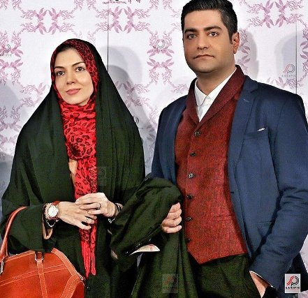 عکس های آزاده نامداری و همسرش سجاد عبادی درحاشیه جشنواره فجر