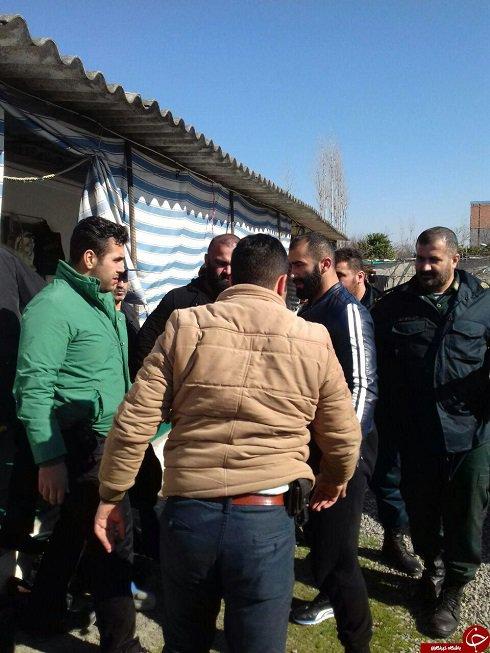 گرداندن شاه مازندران در محل جرم