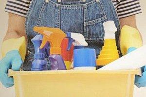 هنگام خانه تکانی مواظب پوستتان باشید
