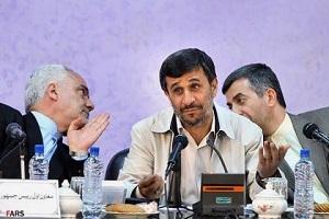 احمدی نژاد نتیجه انتخابات پیش رو را پیش بینی کرد