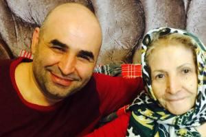 متن قشنگ علی مسعودی درمورد مادرش مهربانش + عکس
