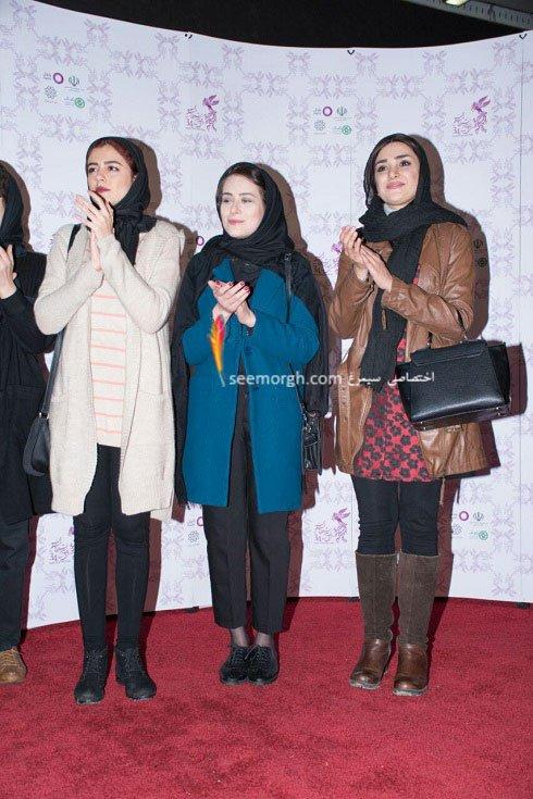 مدل لباس بازیگران فیلم دختر در هشتمین روز سی و چهارمین جشنواره فیلم فجر - 3