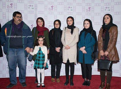 مدل لباس بازیگران فیلم دختر در هشتمین روز سی و چهارمین جشنواره فیلم فجر - 4