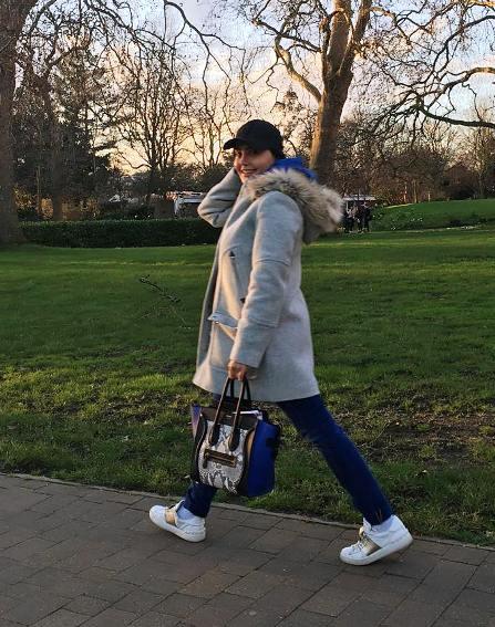 عکس جدید الناز شاکردوست در لندن