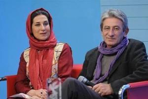 اشکهای فاطمه معتمدآریا در افتتاحیه جشنواره فیلم فجر بخاطر همسرش!