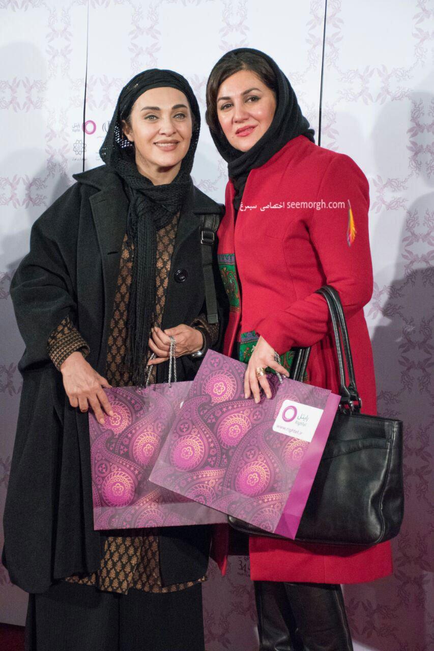 حاشیه های جشنواره فیلم فجر: تصاویری زیبا از ستاره اسکندری و رویا نونهالی