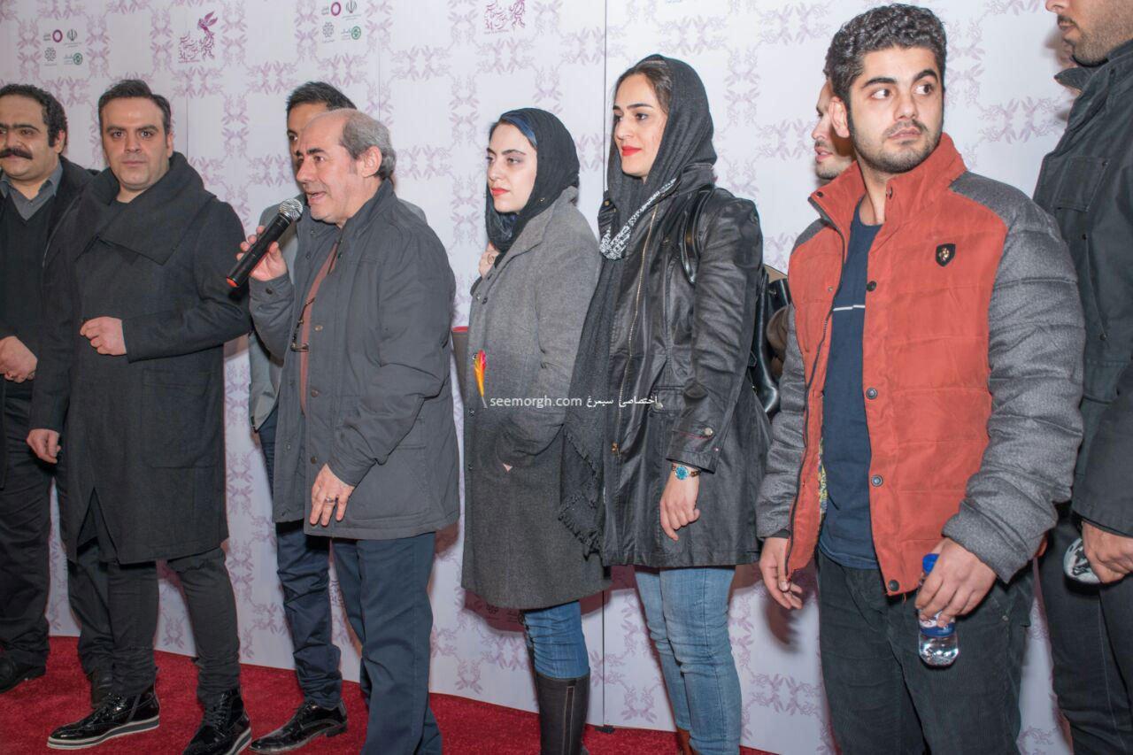 حواشی جشنواره فیلم فجر: کمال تبریزی و میلاد کی مرام در فرش قرمز امکان مینا