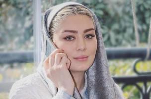 چهره خاص و زیبای سحر قریشی با لنز های رنگی اش! عکس